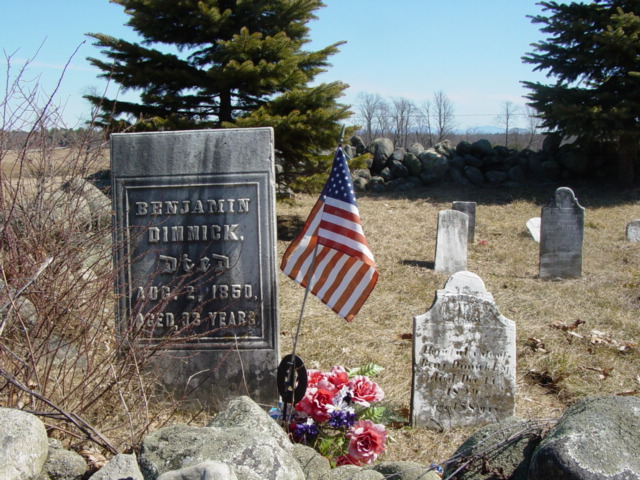 photo of Dimick Cemetery, Town of Wilton